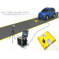 Quality Portable Under Vehicle Surveillance System With Automatic Digital Line Scan Camera for sale
