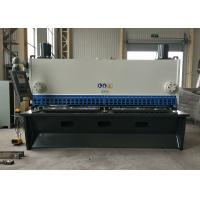 Quality Stable Metal Cutting Shears / DELEM CNC Control Guillotine Steel Cutter for sale