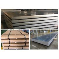 Quality Anti Slip / Corrosion Aluminum Plate Material , High Strength Aluminum Alloy Sheet for sale