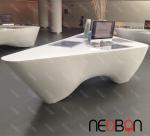 Quality Office Furniture Reception Desk Counter, Desk reception for sale
