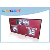 Quality 12inch 300mm Digits in White Color Led Electronic Scoreboard for American Markets for sale