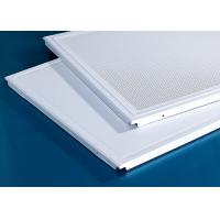 Quality 600x600MM Acoustic Clip In Metal Aluminum Ceiling for sale