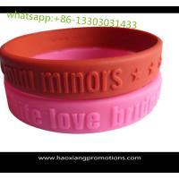 Quality 2016 new products arts and crafts rubber gift silicone bracelet for promotional gift for sale