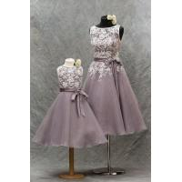 Quality Capes Lace flower girl dress#C570 for sale