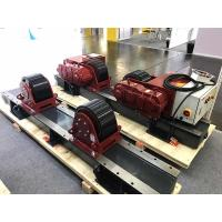 Quality 45000lbs Capacity Pipe Welding Rotator , Digital Turning Speed Display Heavy Duty Pipe Stands for sale