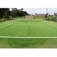 Buy UV Resistant Artificial Grass For Cricket Pitch 6600 Density with Short Yarn at wholesale prices