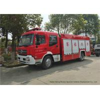 China Dongfeng King Run Water Foam Fire Truck  With Water Tank 4000 Liters Foam 2000 Liters on sale