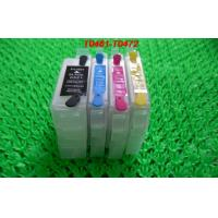 PP 15ML Refillable ink cartridge T0741-T0744 for Epson Desktop Printer with permanent chips for sale
