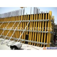 China Professional Custom Concrete Column Formwork With H20 Wooden Beam And Steel Walers on sale