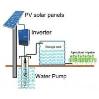 China MPPT Solar Power 3 Phase Inverter , 22kW 37kW 30kW Solar Water Pump Inverter on sale
