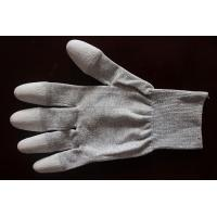 Quality Copper Top/Palm PU Coated Conductive Gloves for sale