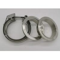Quality T Bolt V Bend Quick Release Spot Welded Heavy Duty Pipe Clamps With Double Flange for sale