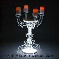 Buy CH (22) home floor standing acrylic candle holders at wholesale prices