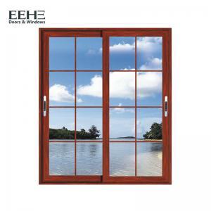 China Balcony Double Glazed Aluminium Sliding Windows / Safety Contemporary Aluminium Windows on sale