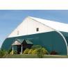 Outdoor Aluminum Structural Clear Span Tennis Court Tent White Color Arcum Shape for sale