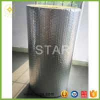 Quality Aluminum foil roof heat insulation material with foil coating, thermal reflect bubble material for sale