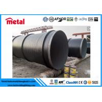 Quality API 5L X52 3LPE Coated Steel Pipe DN600 SCH 40 Thickness LSAW For Liquid for sale