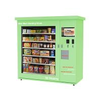 China Touch Screen Mini Mart Vending Machine Beverage Candy Snack Food Drink Can Bottle on sale