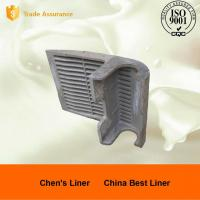 Quality 42CrMo4 Mineral Processing / Cement Mill Liners With Heat Treatment for sale