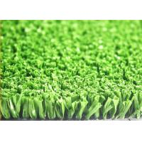 Buy 13mm Natural Looking Green Artificial Grass For Sports Croquet Sand / Rubber Infill at wholesale prices