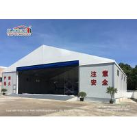 Buy cheap White Color Permanent Relocatable Aircraft Hangar 25 X 50 Side Hard Wall from wholesalers