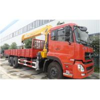 Quality Dongfeng Crain Used Trucks , 6X4 Used Auto Crane 180/2200 Kw Max Power for sale