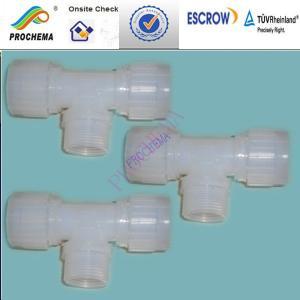 Quality PVDF Fitting , PVDF elbow ,PVDF connector, PVDF Processed parts for sale