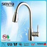 China Single lever pull out sink mixer upc kitchen faucet on sale
