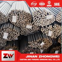 Forging and Casting Grinding Rod For Mining Low Breakage Long Time Work 50mm for sale