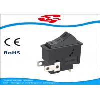 Quality 3 Pin On On Off 3 Position Rocker Switch For Hair Dryer , Long Mechanical Life for sale