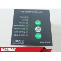 Quality Single Phase Diesel Generator Parts ATS106 Ats Control Panel CE for sale
