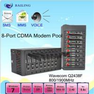 Quality USB 8 ports GSM/GPRS SMS modem pool (wavecom/siemens module ) for sale