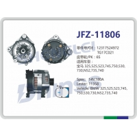 Buy cheap Car Alternator Generator For BMW 545 LESTER 11358 TG17C027 14V 180A from wholesalers