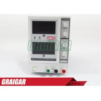 Quality DC Electric Instruments Constant Voltage Current Power Supply / Source 0-30V 0-5A for sale