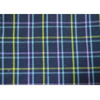 Quality Plain Style Yarn Dyed Fabric Multi Clolor Grid Pattern For Garment for sale