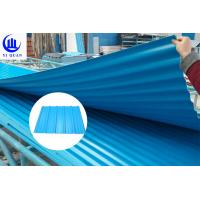 Quality Fire Resistance PVC Roof Tiles Sheet For Warehouse , Customize Length for sale