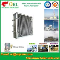China Water Proof Plate Air Preheater / Combustion Air Preheater Hot Water on sale
