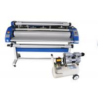 Quality PVC Film Wide Format Cold Lamination Machine With Low Temperatue Working for sale