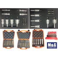 China Metal Plastic Case Carbide Counterbore High Speed Steel Annular Cutter Set on sale