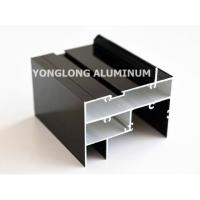 Quality High Hardness Curtain Wall Aluminum Profiles Light Easy Processing / Installation for sale