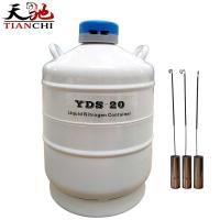 China Tianchi Chemical Storage Tank YDS-20 Cryogenic Vessel 20L Liquid Nitrogen Container on sale