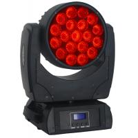 Quality LCD LED Moving Head Lights , Indoor LED Moving Head Wash 19x10W for sale
