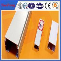 Quality led strip aluminum channel / led mounting channel extrusion profiles aluminium for sale