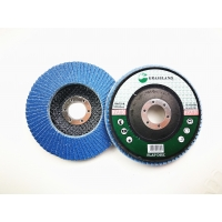 Quality 125mm 40 Grit 80 Grits Angle Grinder Polishing Zirconia Flap Discs for sale