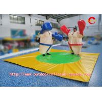 Quality PVC Kids Inflatable Sports Games , Inflatable Foam Padded Sumo Wrestling Suits for sale