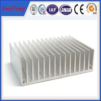 Quality Hot! OEM aluminum profile extrude fin, extruded aluminum heatsink profile for lighting for sale