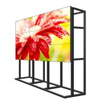 Quality Anti Glare Surface Monitor Para Video Wall / Multi LCD Display 500 Nits for sale