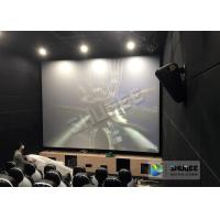Buy cheap Unique Electric Motion 4D Cinema Seats With Curve And Ring Screen / 4D Movie Ride from wholesalers