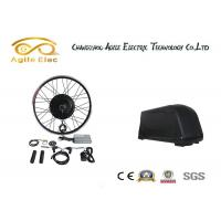 Quality 36V 500W Black Gearless Motor Kit With Down Tube Type Battery for sale