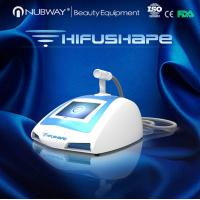 Quality non invasive fat loss portable HIFUSHAPE machine ultrasound cavitation treatment for sale